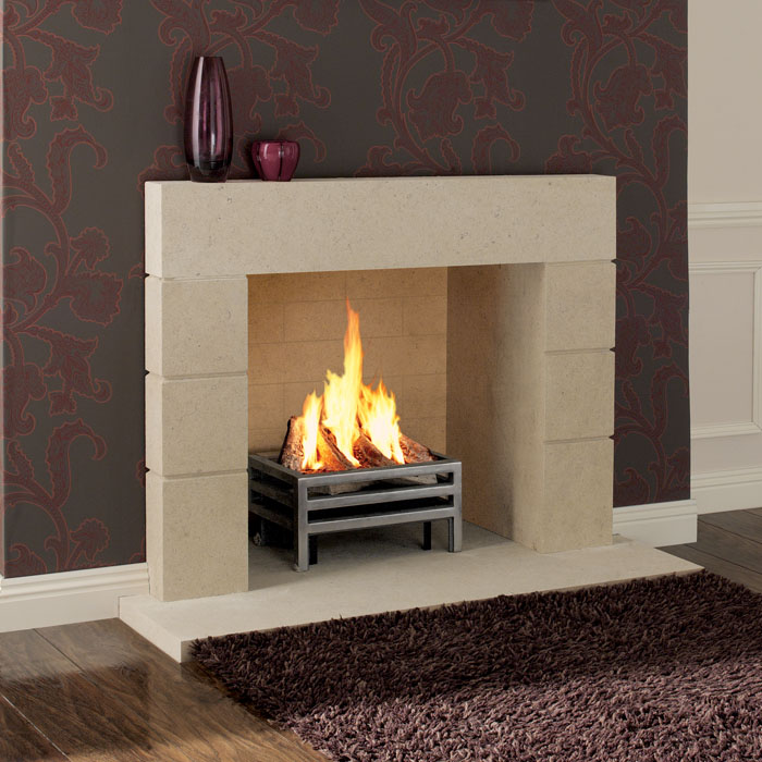 Priory fireplace