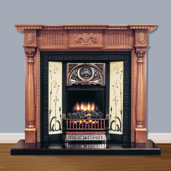 Victorian Edwardian Fireplaces Period Traditional Fireplaces