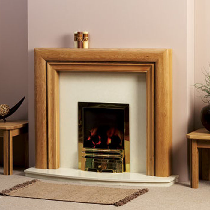 baltimore oak fireplace