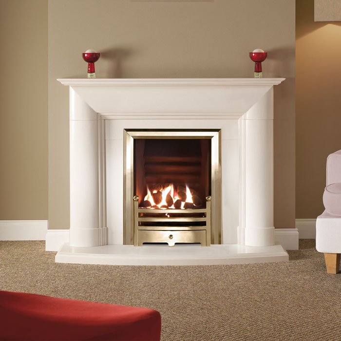 burwell 48 barley white fireplace