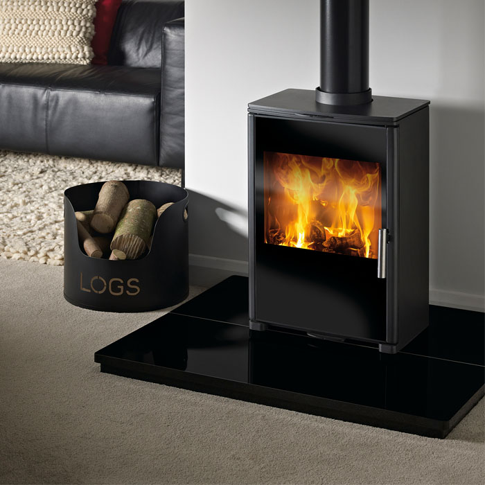 Capital Sirius 450 glass smoke control stove