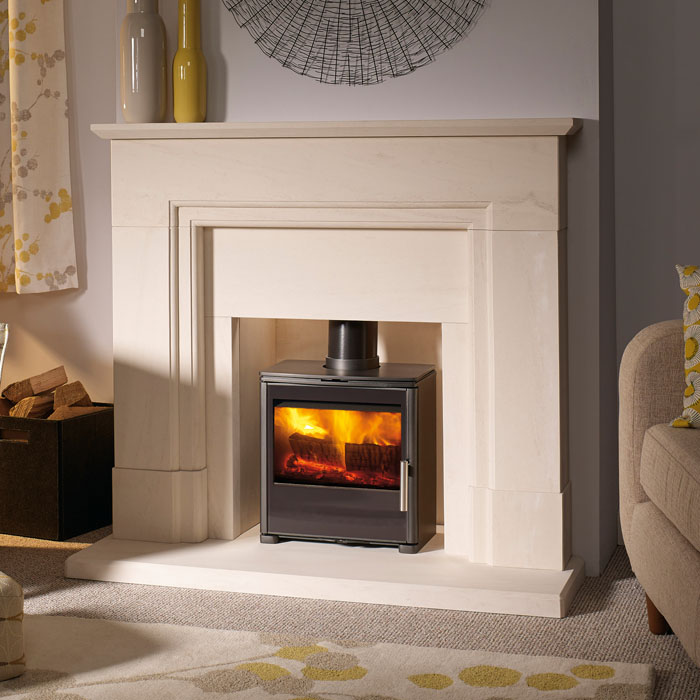 Capital Qube smoke control stove