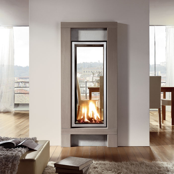 Flueless Gas Fires Glass Fronted Chiswell Fireplaces
