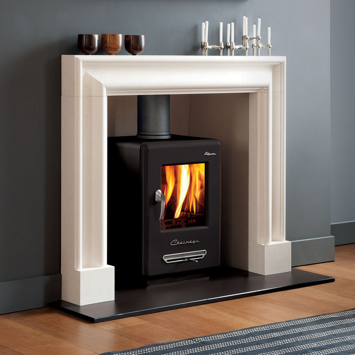Chesney Alpine 6 smoke control stove