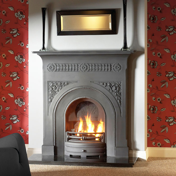 fairburn 48 black fireplace