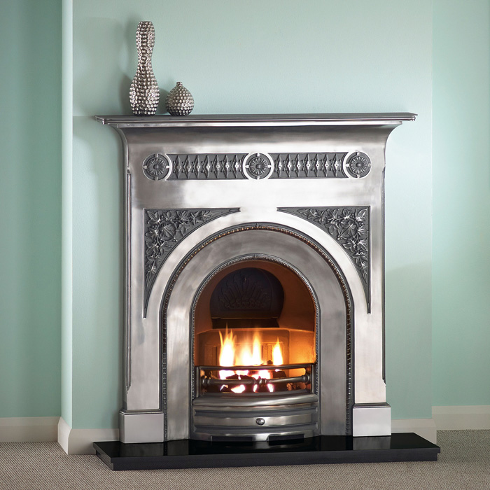 fairburn 48 full polished fireplace