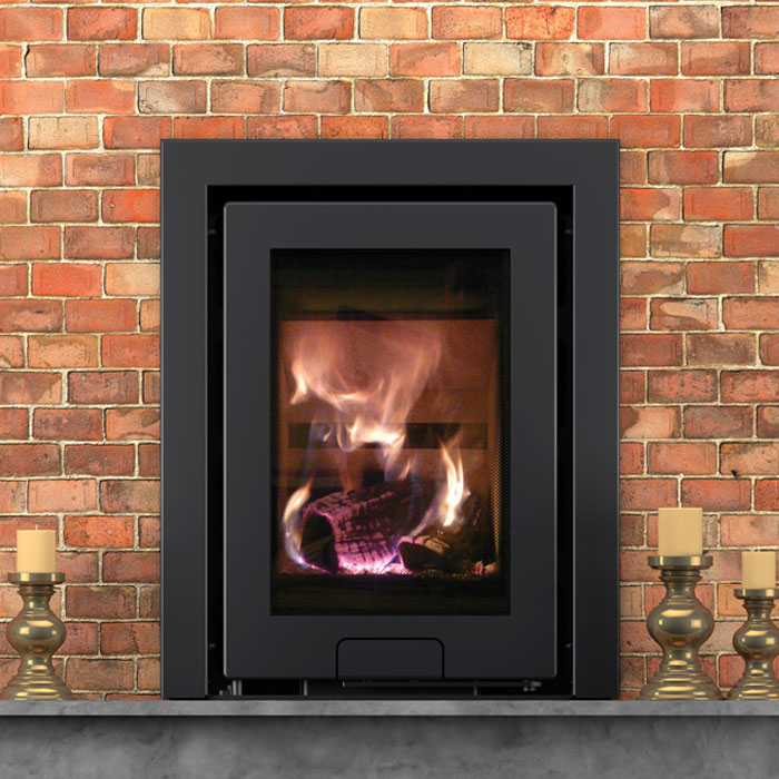 Di Lusso R4 3 Sided inset stove