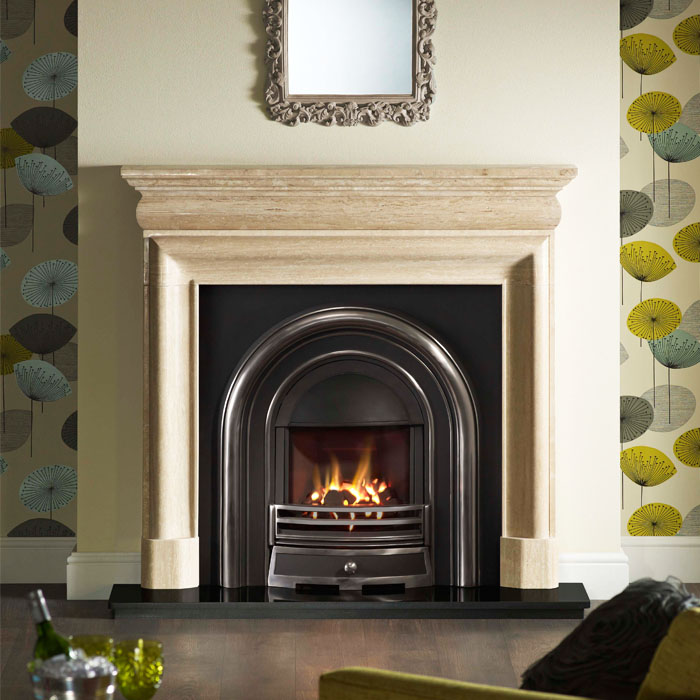 mulholland travertine greencast wandsworth fireplace