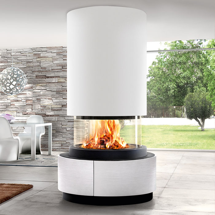 Piazzetta Oslo 360 Fireplace Chiswell Fireplaces