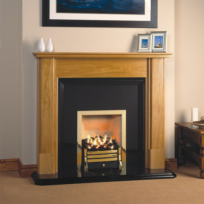 "Magiglo Premos 16"" gas fireplace"