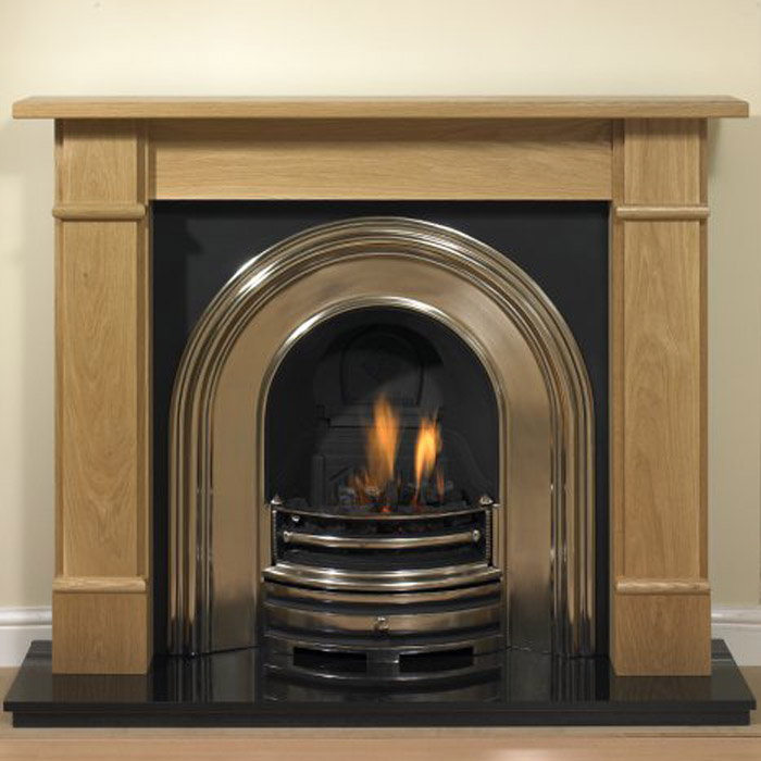 oak flat victorian fireplace
