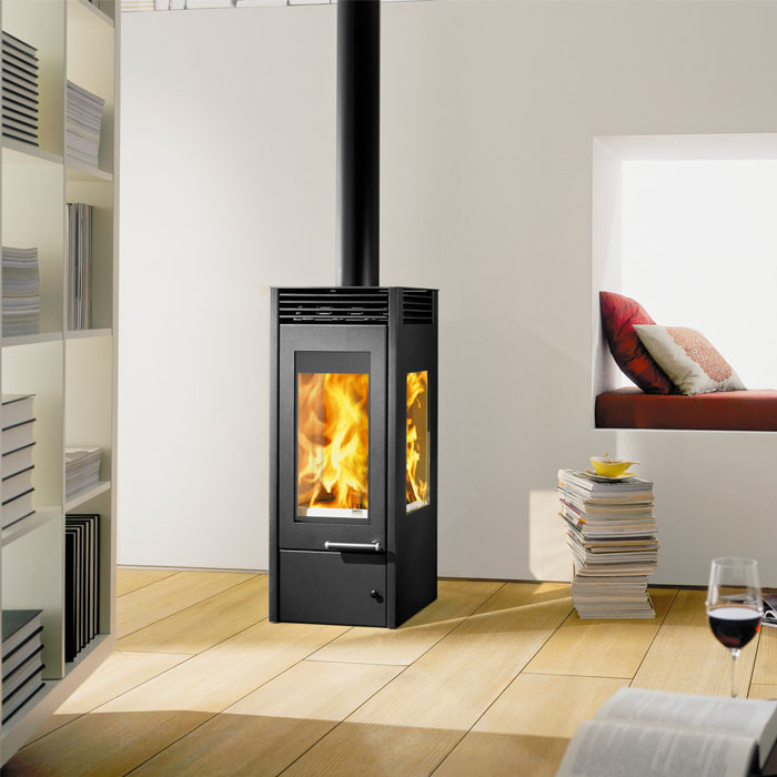Austroflam Glass wood burning stove