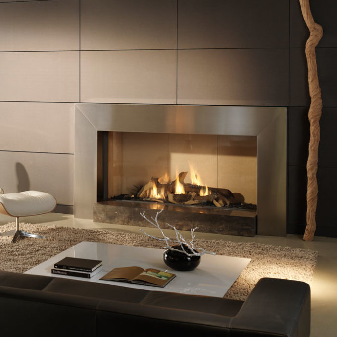 Cosmo Slim Line II gas fireplace