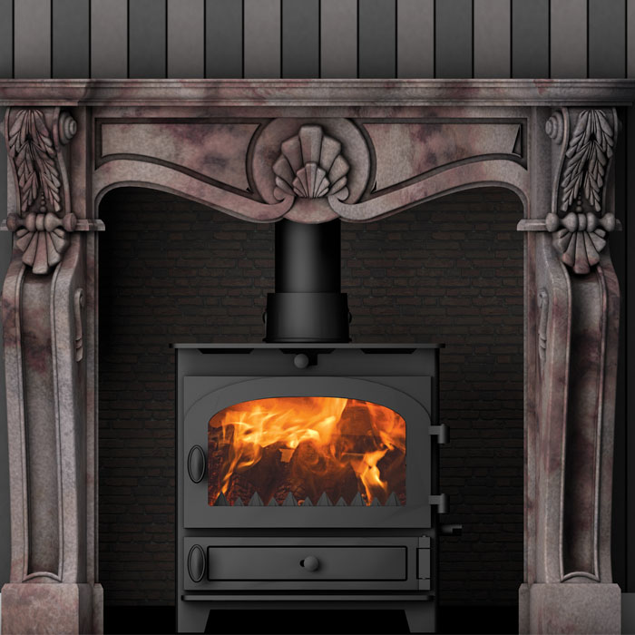 Hunter Kestral 5 dark multi fuel stove